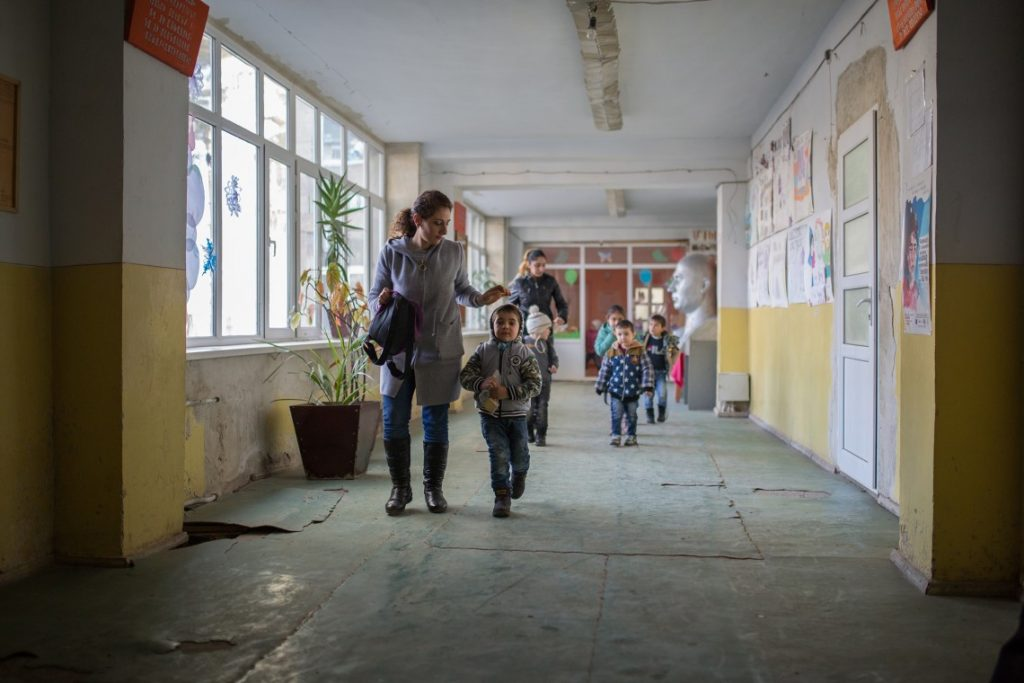 Armenia, education, border zone, border village, Karabakh conflict, border with Azerbaijan, school, schoolchildren, International Committee of the Red Cross, situation monitoring, Khndzorut,