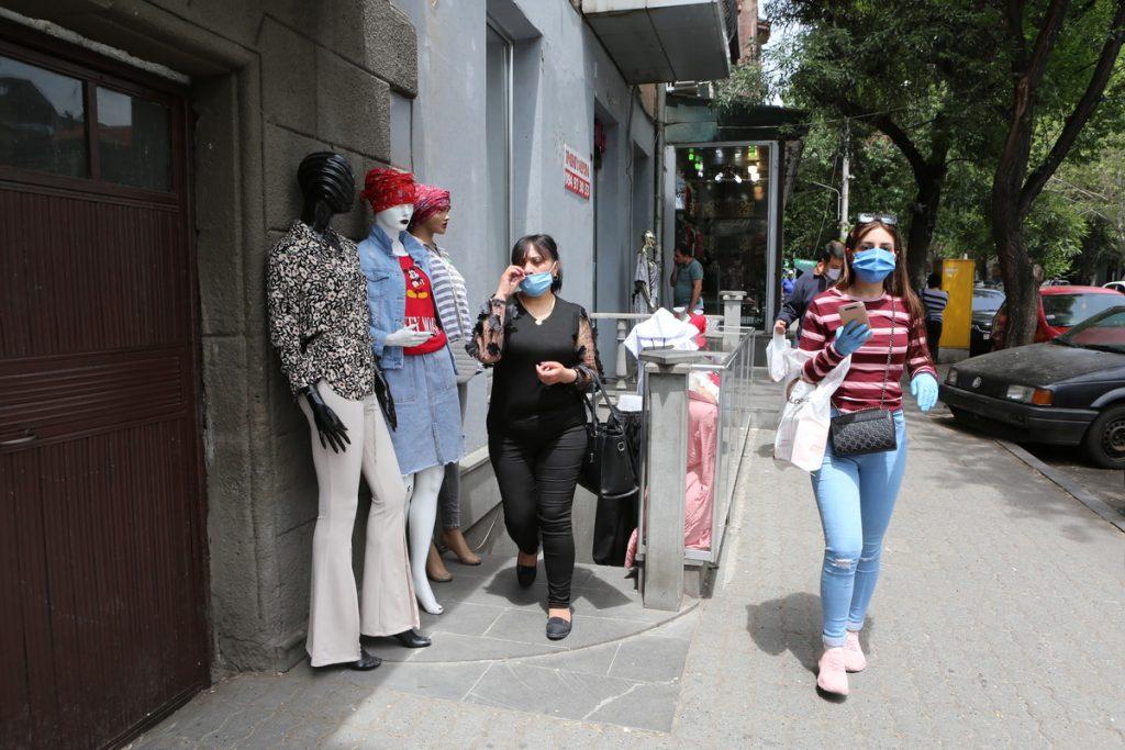 Հայաստան, կորոնավիրուս, վարակվածների թվի աճ