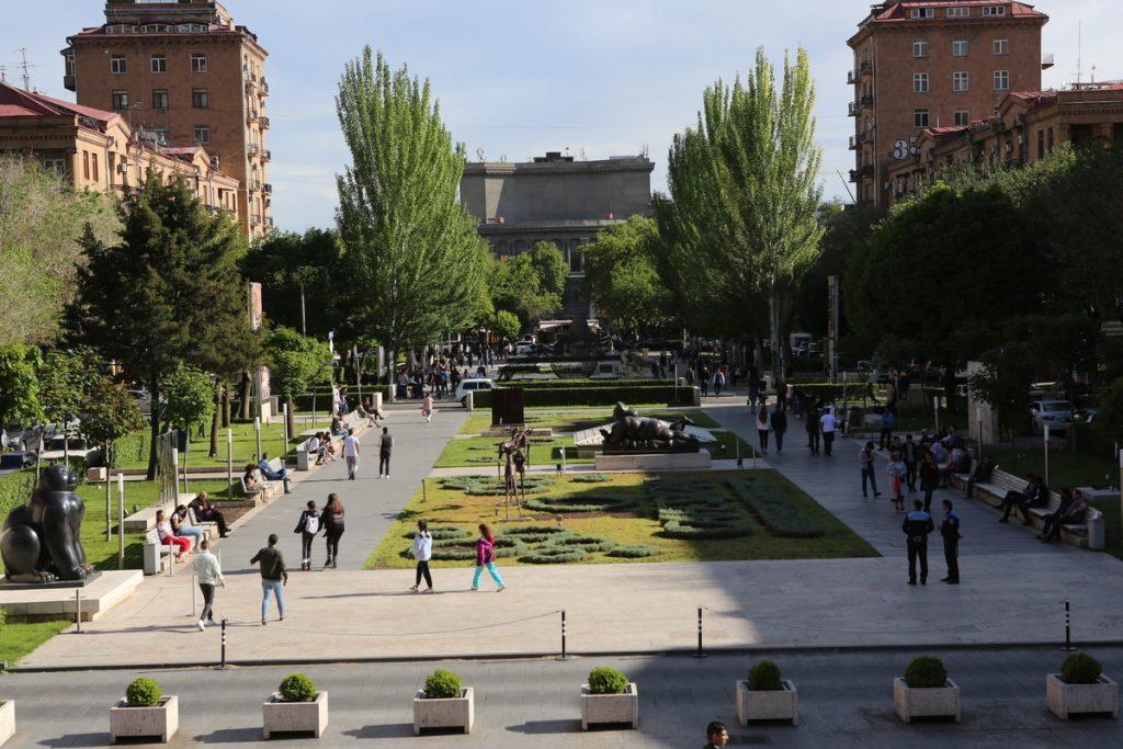 Երևան, կասկադ, կորոնավիրուս,
