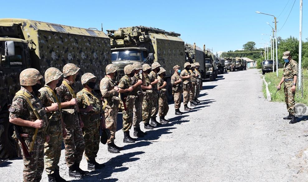 армянская армия, ВС Армении, Давид Тоноян, летний призыв, коронавирус в армянской армии,