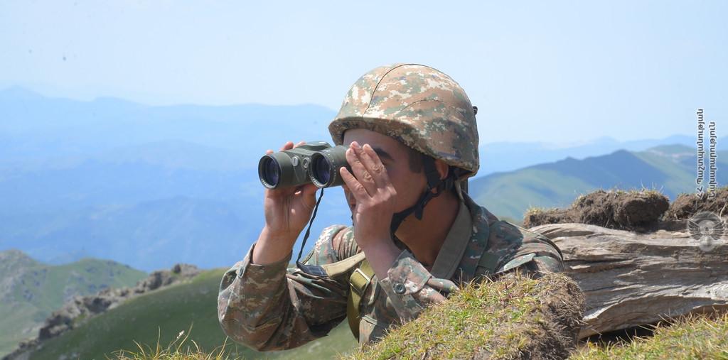 армяно-азербайджанская граница, перестрелка, артиллерийский огонь, Армения, Азербайждан, МИД, министерство обороны,