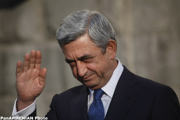 Серж Саргсян, бывший президент Армении, апрельская война, бархатная революция, видеообращение, пресс-конференция, чрезвычайное положение,