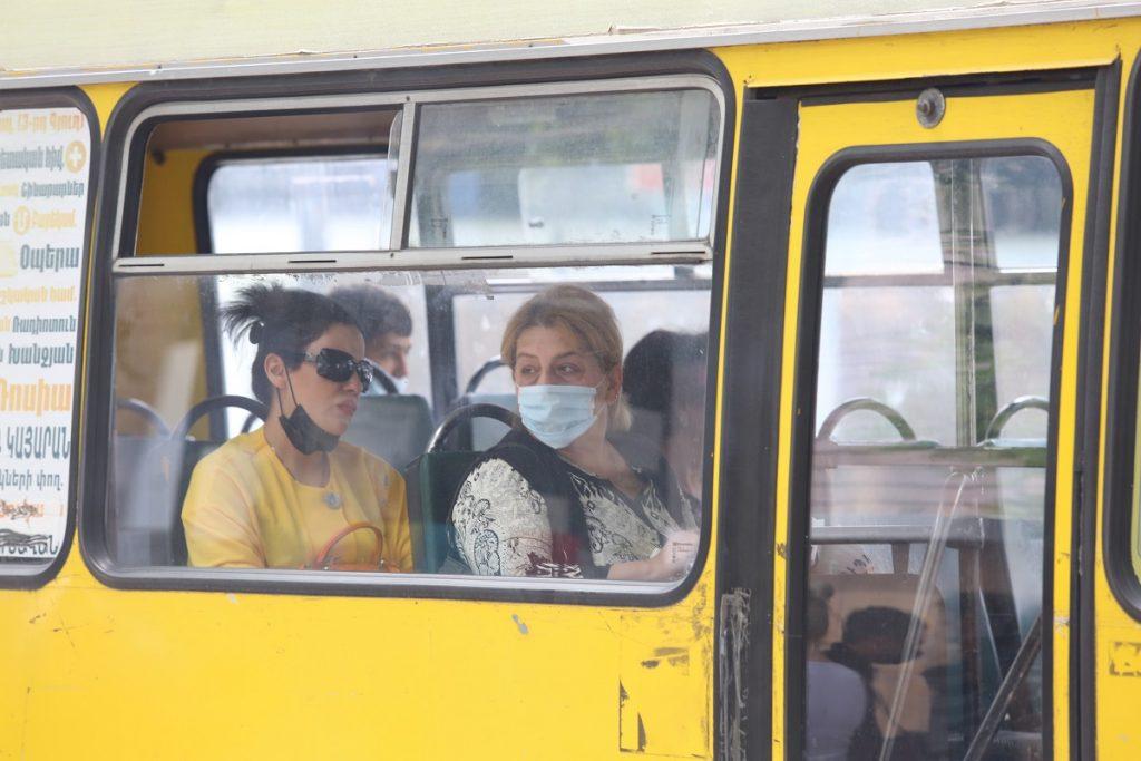 koronavirus, koronavirusun yayılması piki, Yerevandan video, komendantlıq, fövqəladə vəziyyət, məhdudiyyətlər, maska