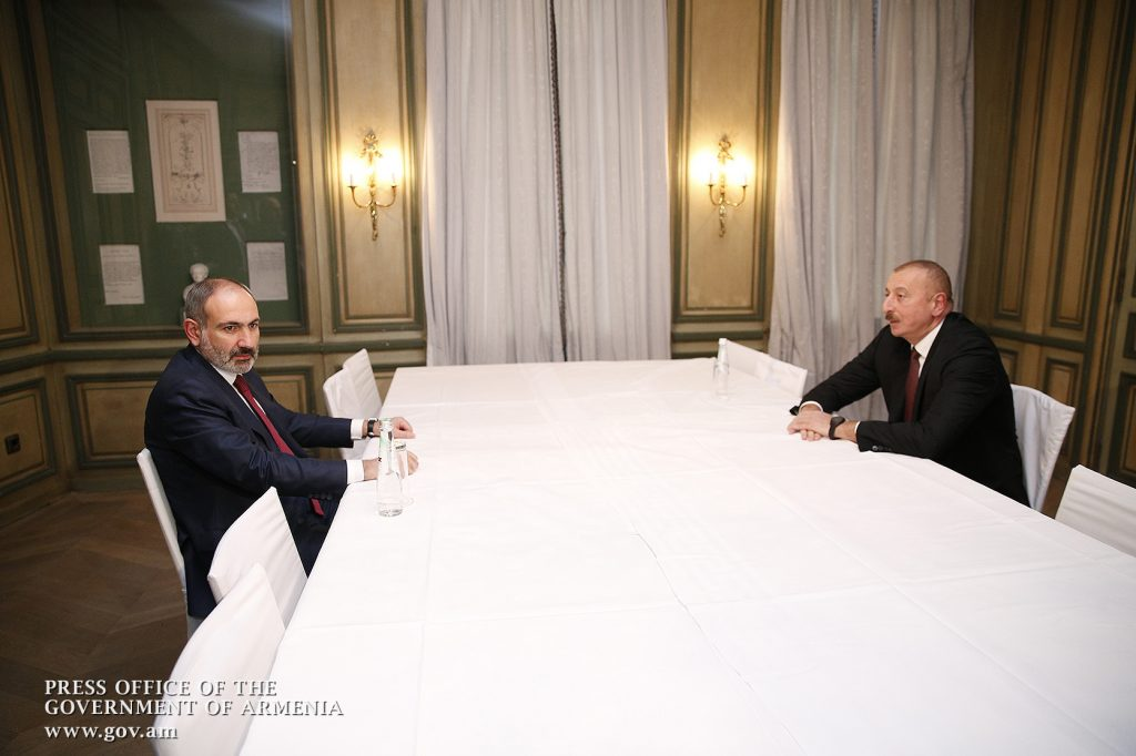 Nikol Pashinyan, Ilham Aliyev, Nagorno-Karabakh, the Karabakh issue, consensus, settlement of the Karabakh conflict, Prime Minister,