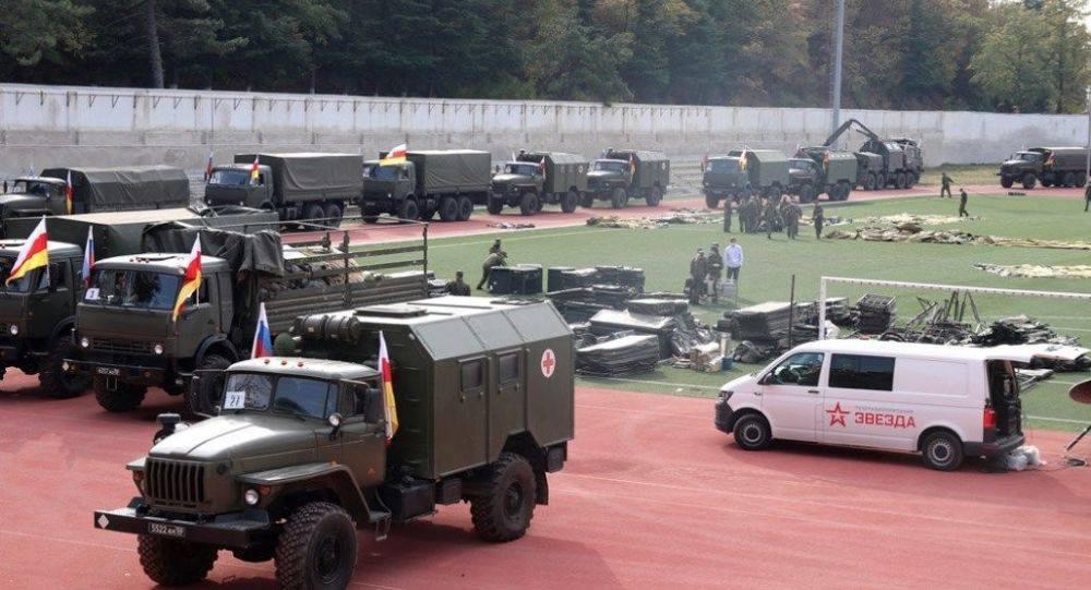 სამხედრო ჰოსპიტალი ცხინვალში. ფოტო: სამხრეთ ოსეთის თავდაცვის სამინისტრო