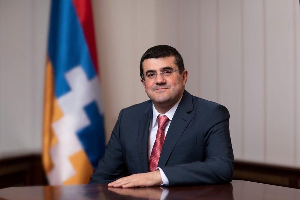 президент Нагорного Карабаха, Араик Арутюнян, пресс-конференция, военные действия в Карабахе, перемирие, нарушение режима прекращения огня, признание Карабаха,