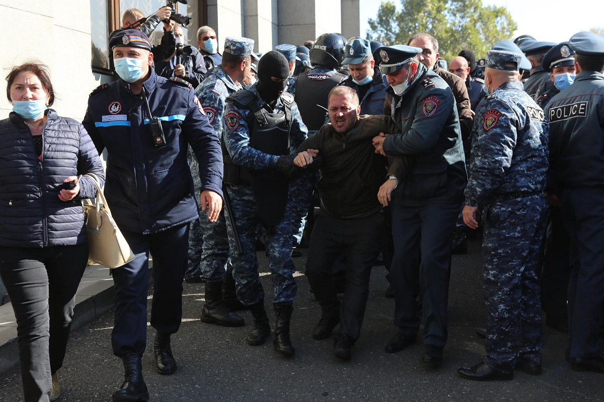Armenia, Yerevan, protest, rally, resignation of Nikol Pashinyan, resignation of prime minister, annulment of the ceasefire agreement in Karabakh