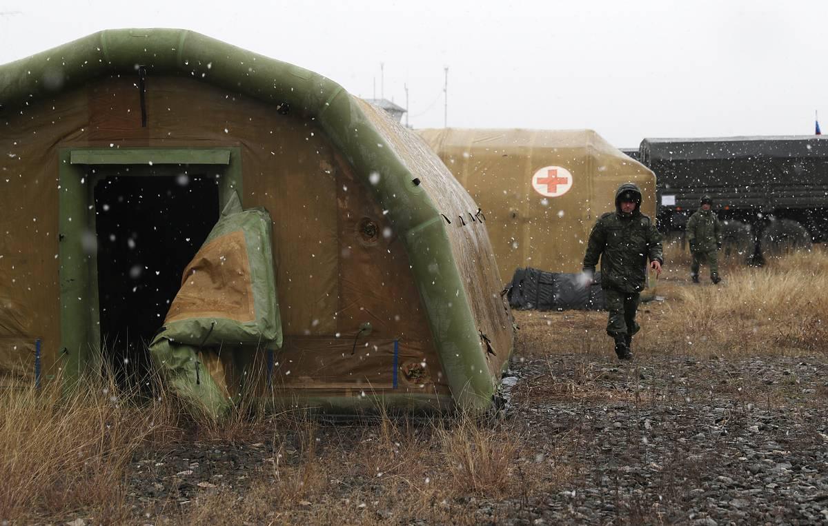Ռուսաստան, Լեռնային Ղարաբաղ, Ադրբեջան, ռուս խաղաղապահներ, բժշկական օգնություն, նորություններ Արցախ, նորություններ Հայաստան,