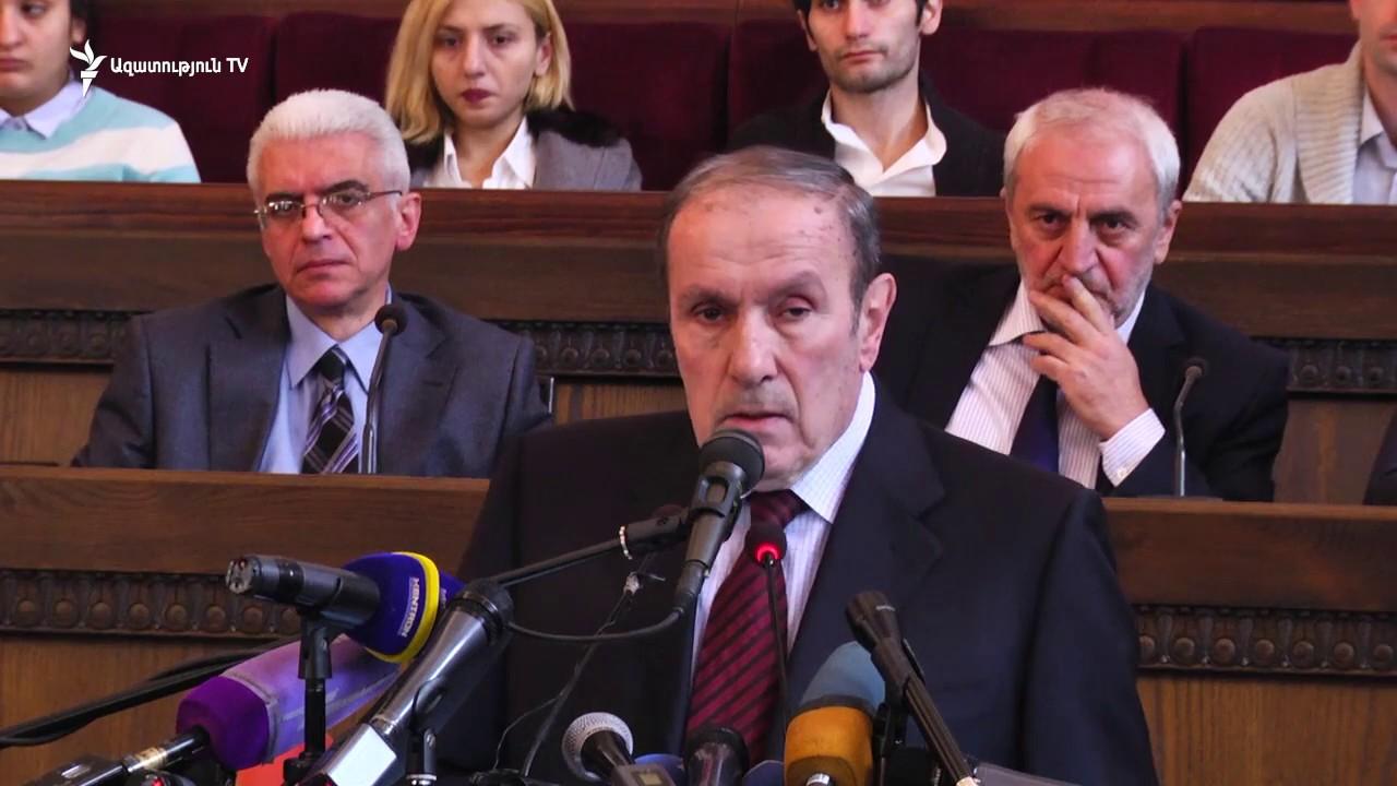 Ռուսաստան, Հայաստան, Ադրբեջան, եռակողմ համաձայնագիր, կայացած իրողություն, Լևոն Տեր-Պետրոսյան, Հայ ազգային կոնգրես,