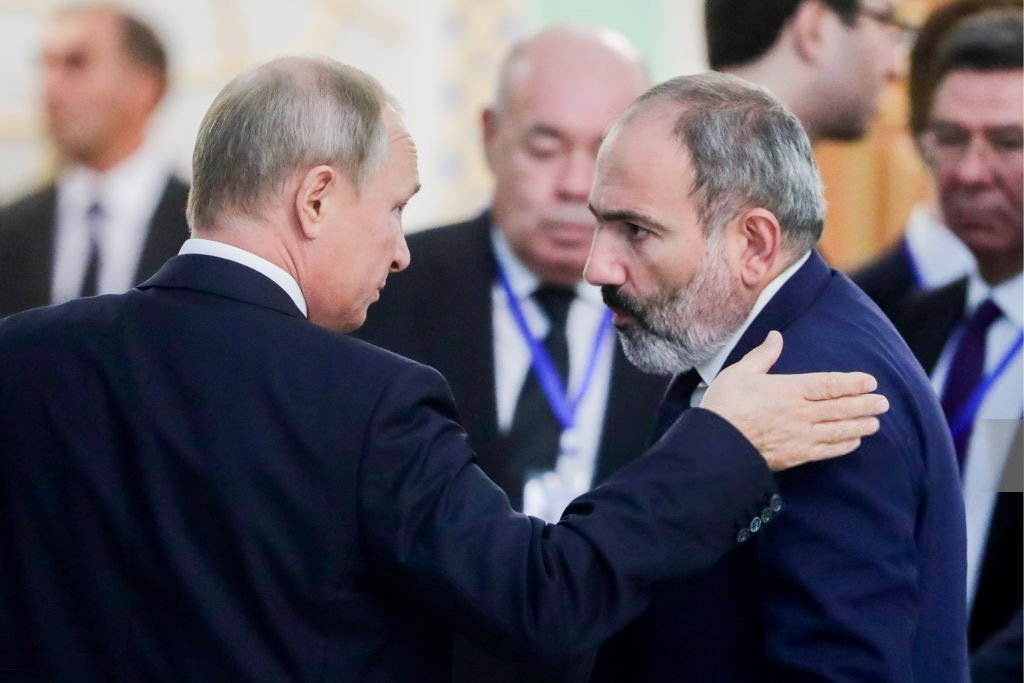 Nikol Pashinyan, Vladimir Putin, Nagorno-Karabakh, CSTO, trilateral ceasefire agreement, Armenia, Russia, Azerbaijan, return of territories, online meeting of the CSTO Collective Security Council, news Armenia,