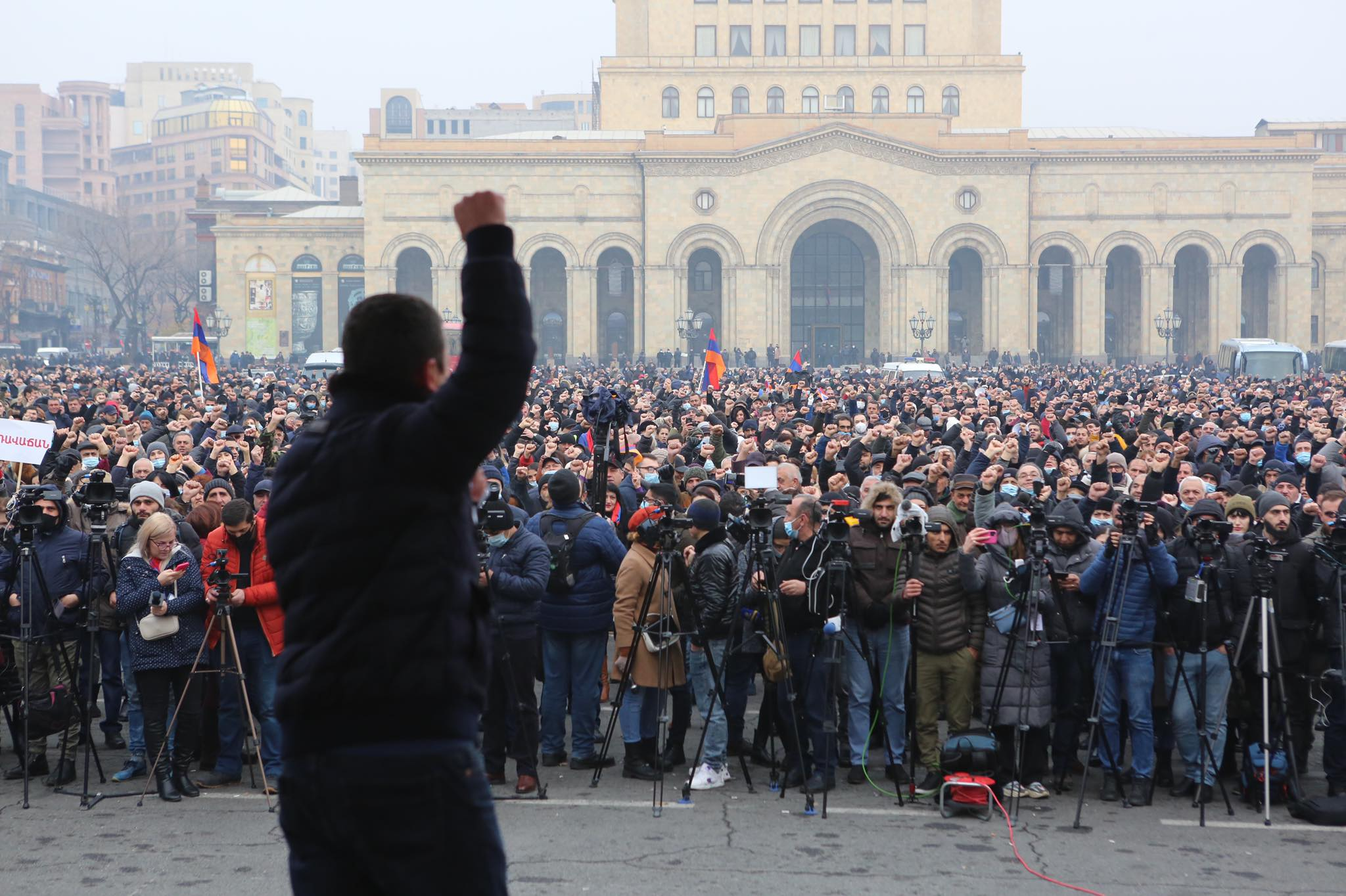 news Armenia, Nikol Pashinyan, opposition Armenia, Vazgen Manukyan, Yerevan, protest, strike, resignation of the prime minister,
