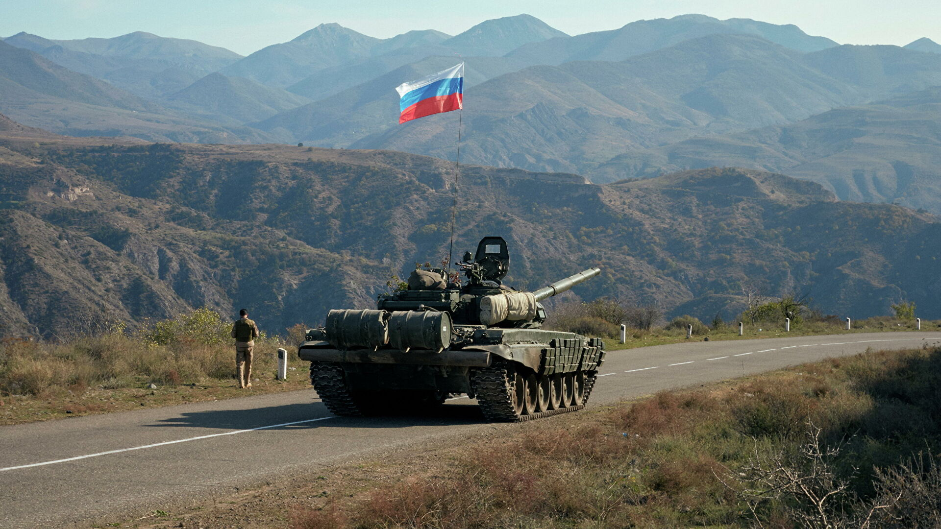 David Babayan, Nagorno-Karabakh, Artsakh, Russia, deployment of a Russian military base, trilateral agreement on the cessation of hostilities,