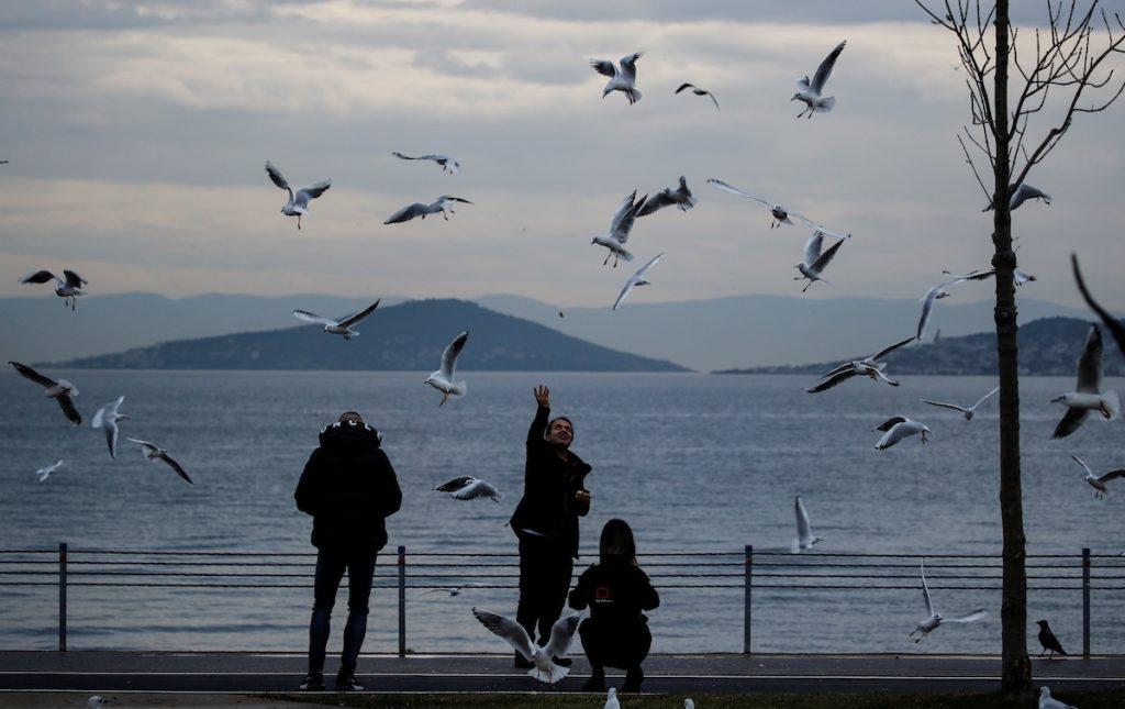 Стамбул в разгар пандемии. 13 декабря, 2020. REUTERS/Umit Bektas. Туризм и коронавирус в Турции