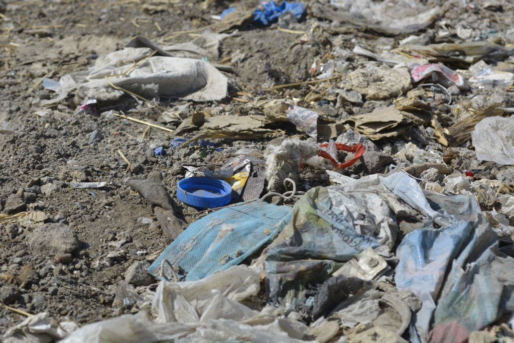 коронавирус, ковид, пандемия коронавируса, защитные средства на свалке, мусор, переработка мусора,