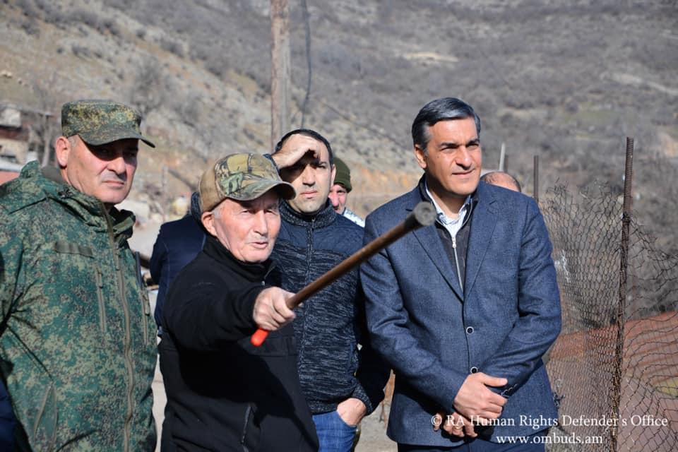 Arman Tatoyan, Syunik, Karabakh war, Armenia, Azerbaijan, news Armenia that Armenia lost to Azerbaijan, Armenia's losses,