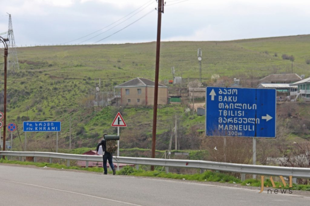 აზერბაიჯანული ნაღმები საქართველოში