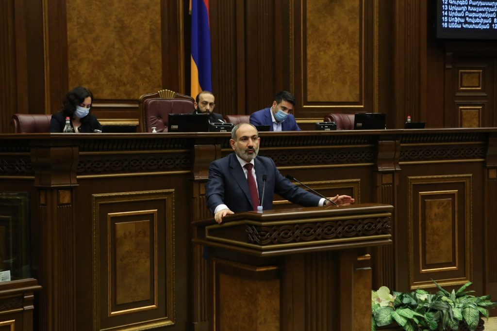 anti-Russian steps, pro-Western orientation of the Armenian authorities, Nikol Pashinyan, Prime Minister of Armenia, Yuri Khachaturov, Gazprom, Russian Railways, South Caucasus Railway, Velvet Revolution, Soros Foundation, Kremlin,