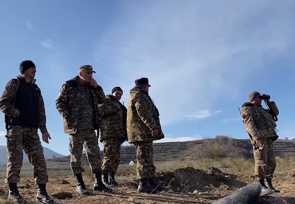 Հայաստան, Ադրբեջան, Սյունիք, պատերազմ Արցախում, նոր սահման, սահմանազատում,