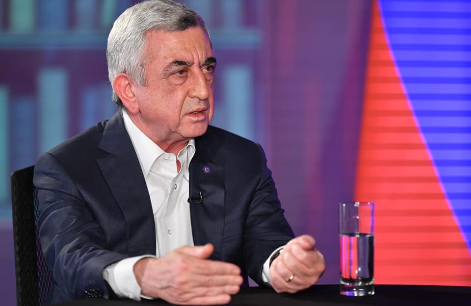 Continuation of the interview with ex-President Sargsyan