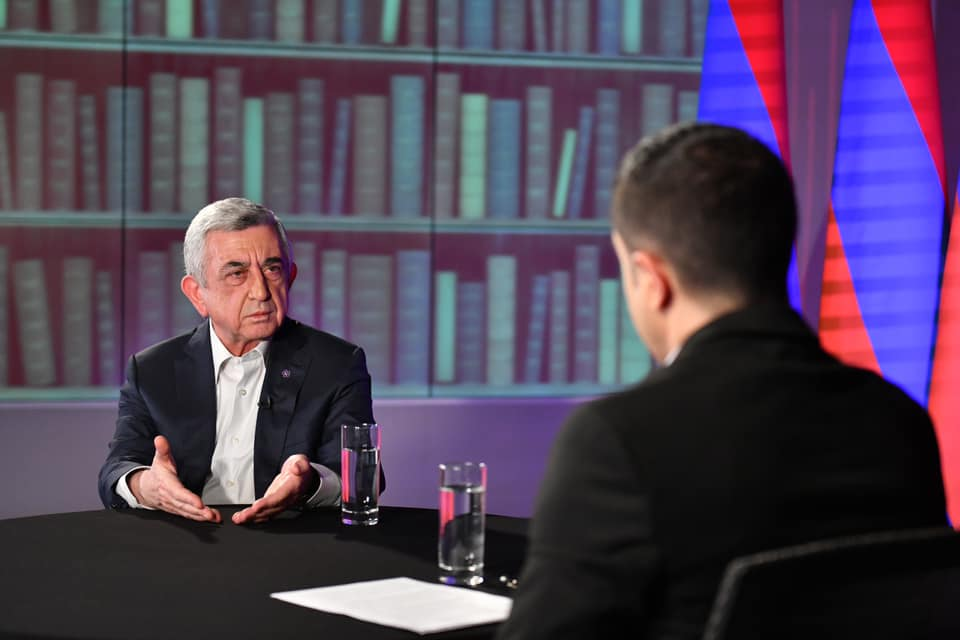 Interview with ex-President of Armenia Sargsyan