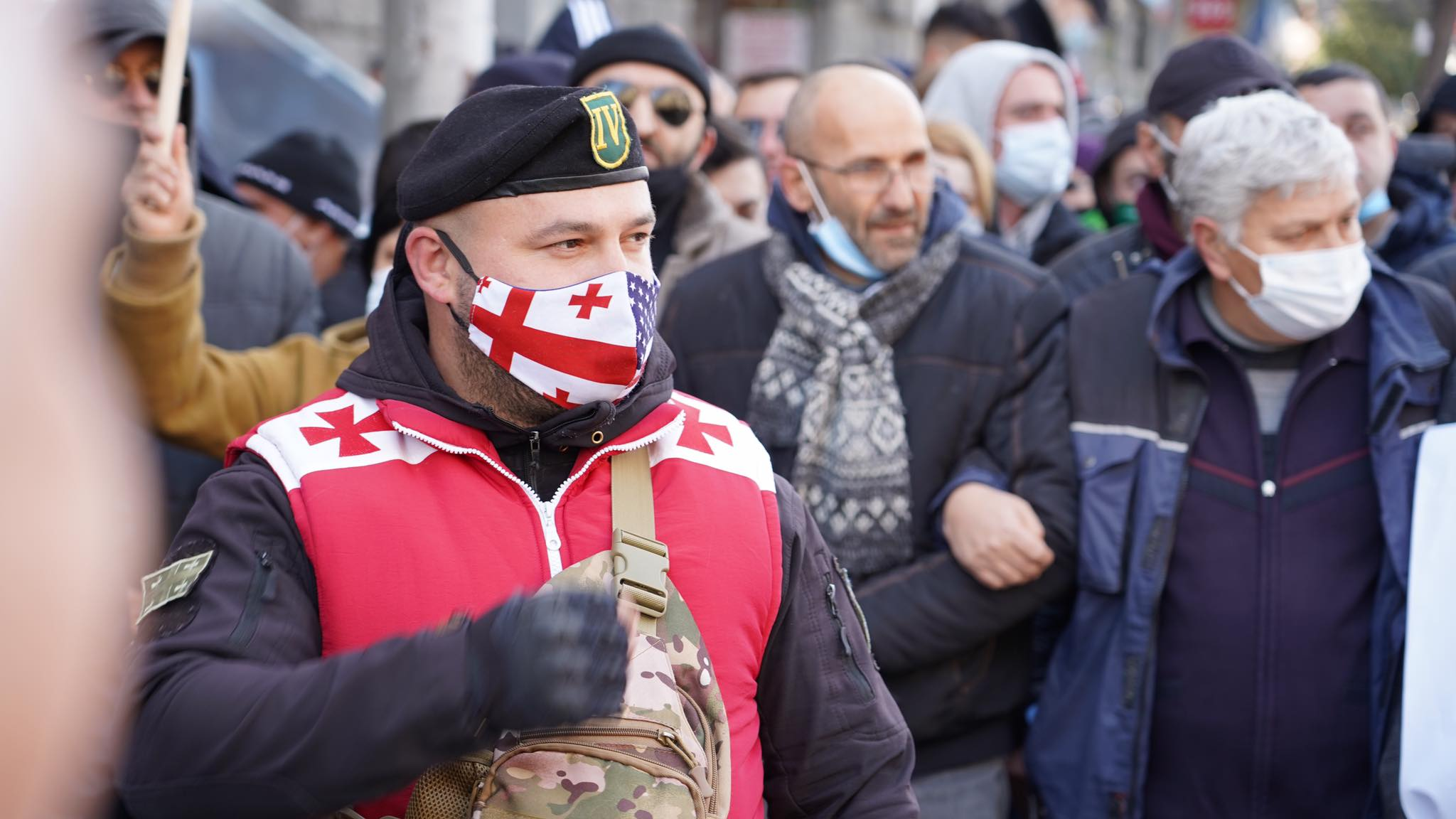 Protest in Tbilisi, photo report.