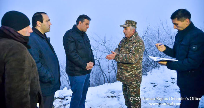 Azerbaijani military shoot in Syunik
