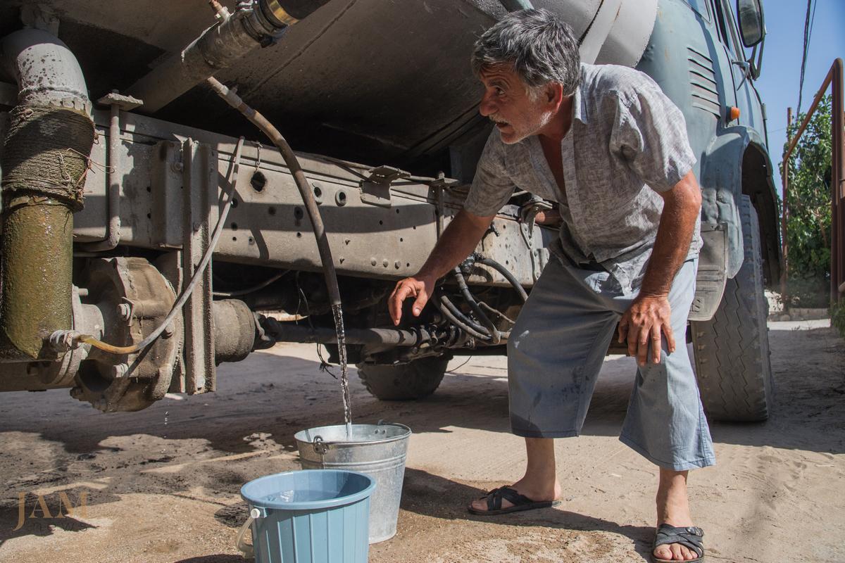 Water problems in Baku