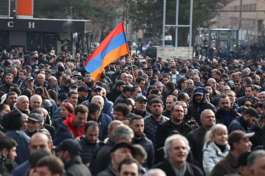 The crisis in Armenia continues