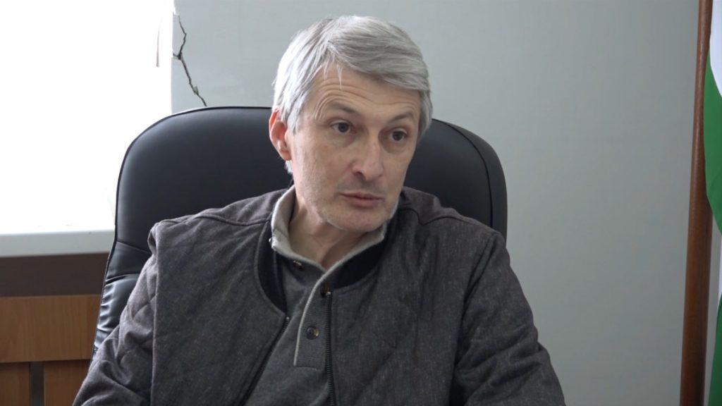 Ilya Gunia, Chairman of the Defense and National Security Committee of the Parliament of Abkhazia