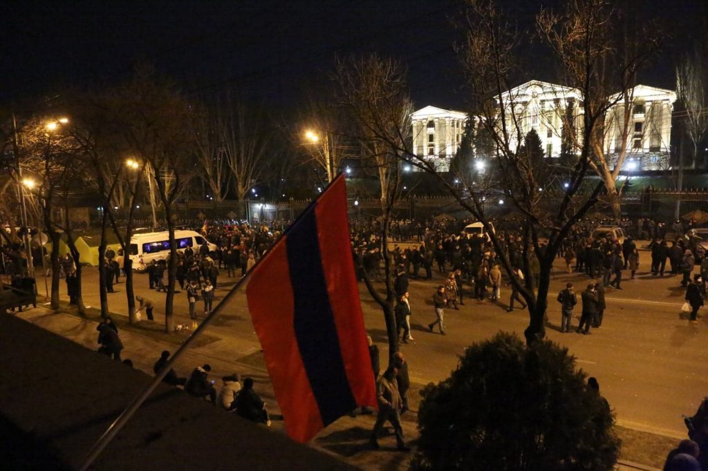 Cancellation of martial law in Armenia