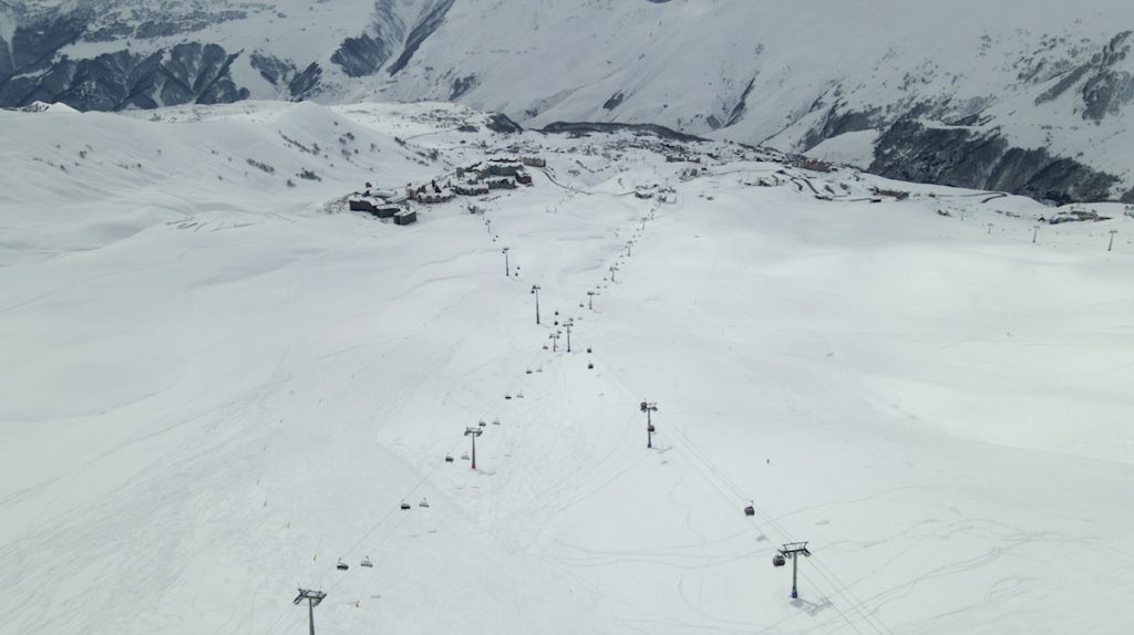 Gudauri ski resort in Georgia, March 2021. Photo: JAMnews