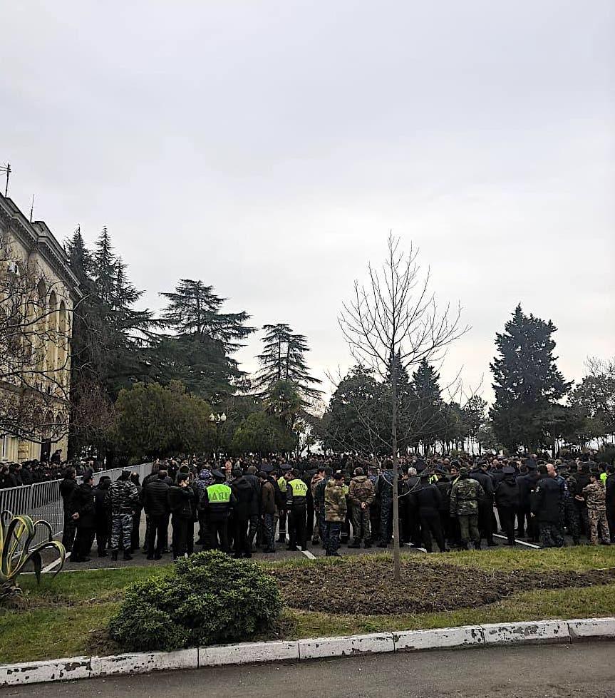 Abkhaz opposition demands resignation of the president