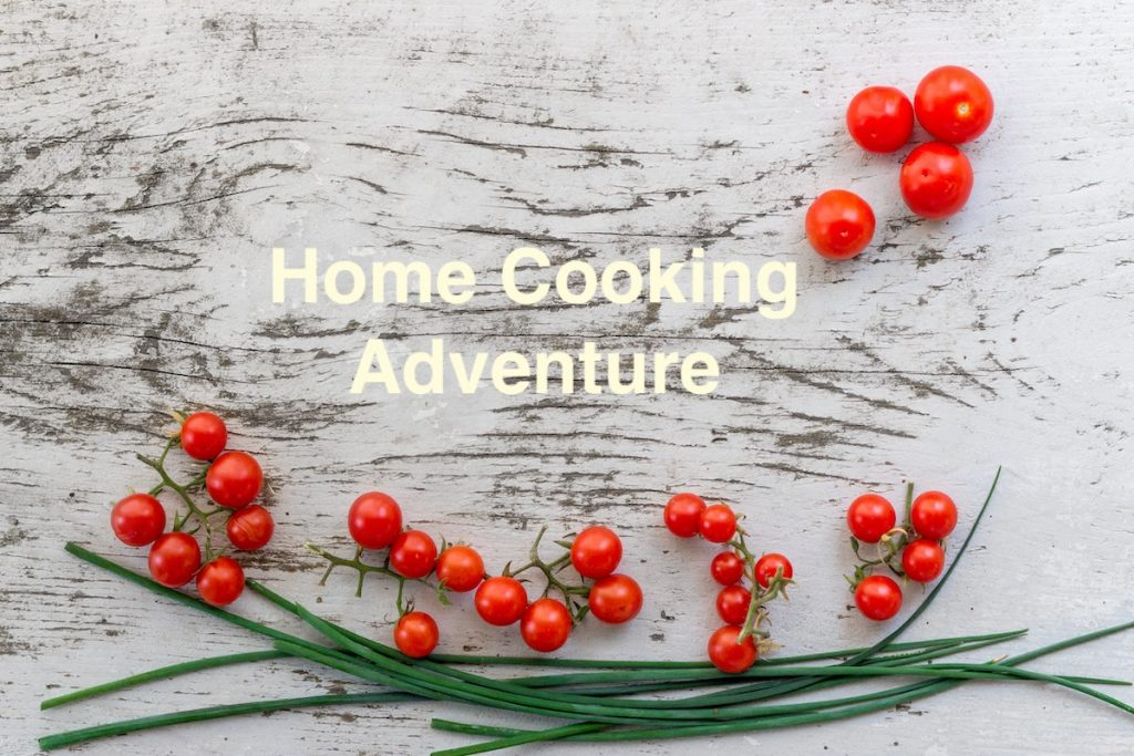 Home Cooking Adventures, home food club. Business during a pandemic, Georgia
