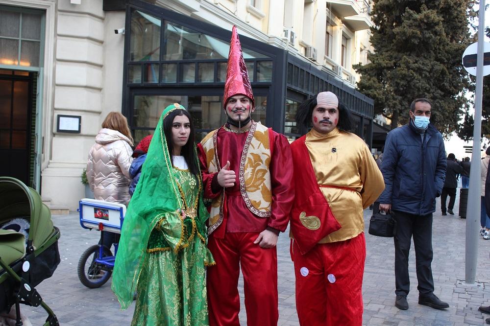 Новруз в Азербайджане. Баку, Фото: JAMnews
