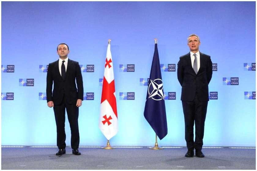 Irakli Garibashvili and Jens Stoltenberg. Europe and the United States help Georgia out of the political crisis