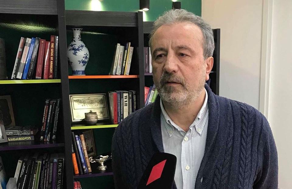 Kaxa, Qoqolaşvili, Rondeli Fondunun Avropa Tədqiqatları Mərkəzinin direktoru