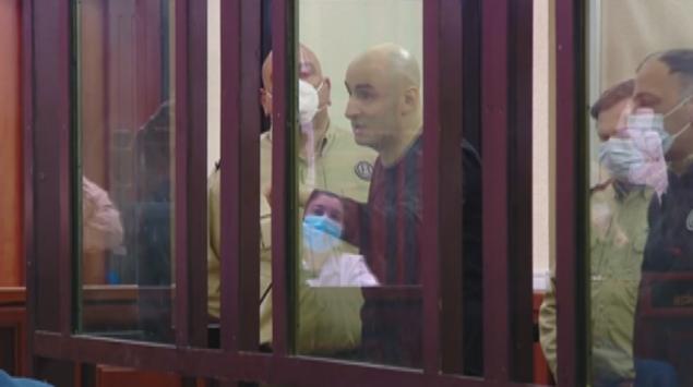 Nika Melia in the courtroom. Photo: Formula