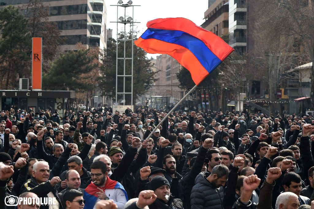 Pashinyan's resignation discussed in Armenia