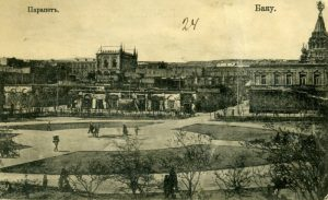 The Fountain Square in Baku