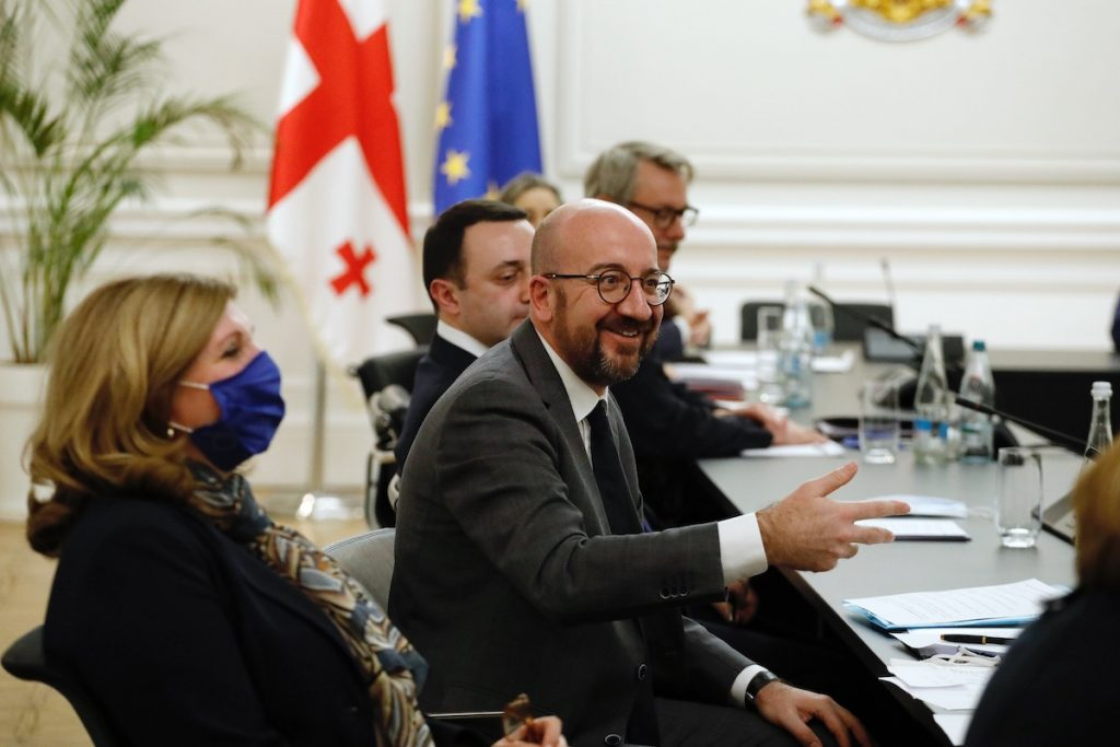 President of the Council of Europe Charles Michel. Photo: European Union