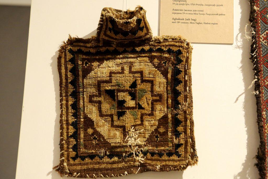 Շուշիի գորգերի թանգարանի նմուշները Երևանում