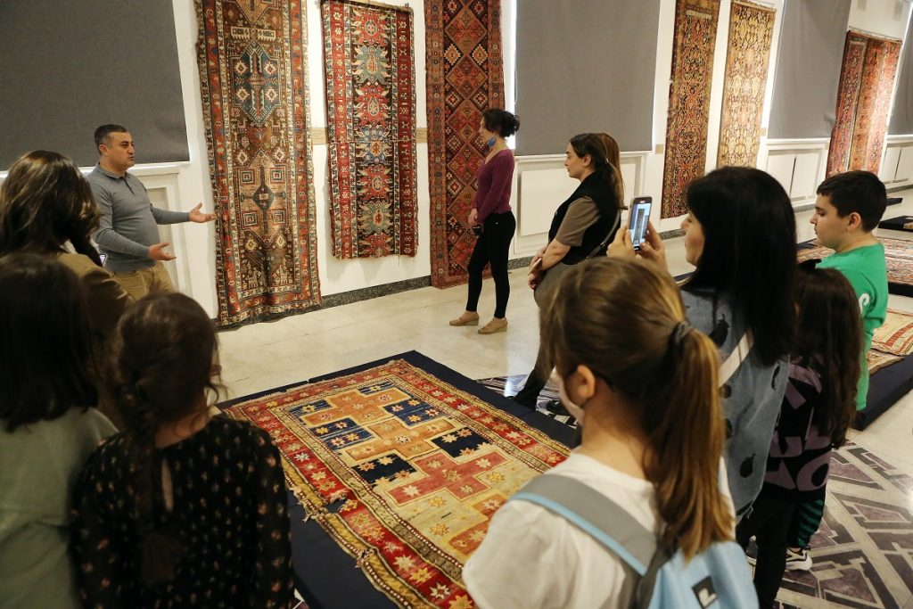 Museo de alfombras Shushi en Ereván