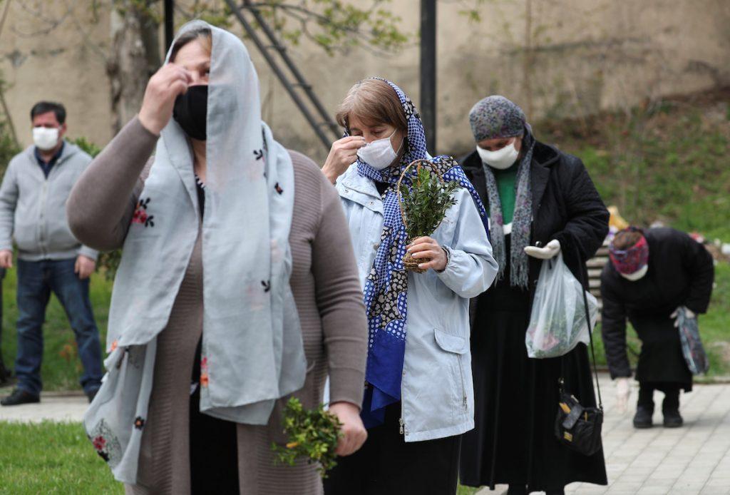 Մարնեուլի, Վրաստան, 2020 թ-ի ապրիլի 12։ REUTERS / Իրակլի Գեդենիձե