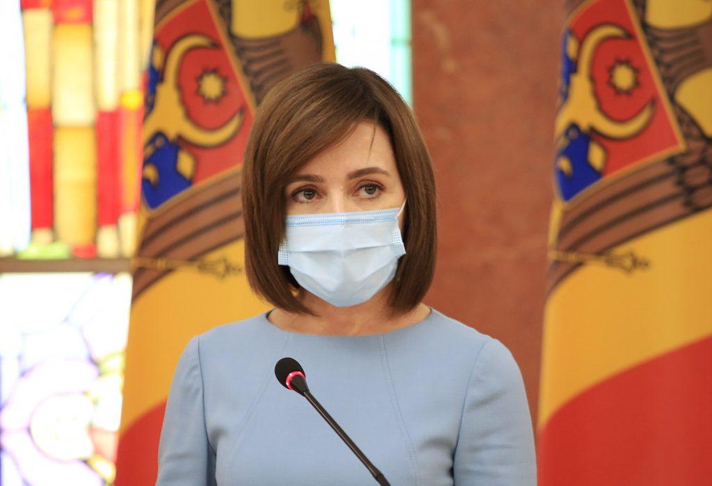 President of Moldova Maya Sandu. December 29, 2020 REUTERS / Vladislav Culiomza