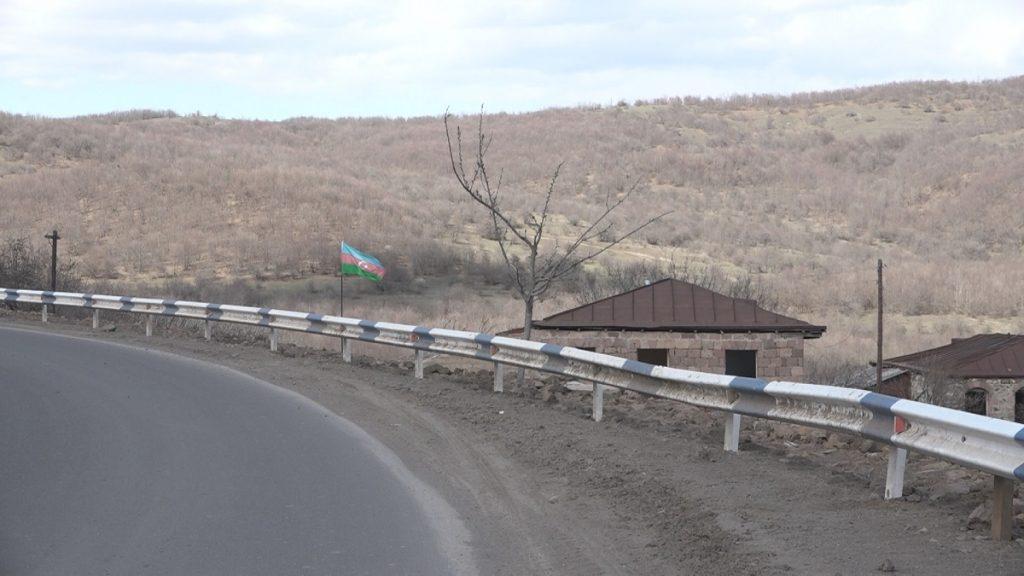 новая граница с Азербайджаном