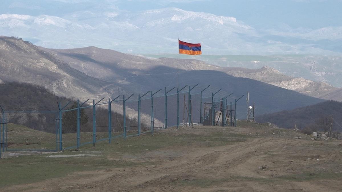 New border with Azerbaijan