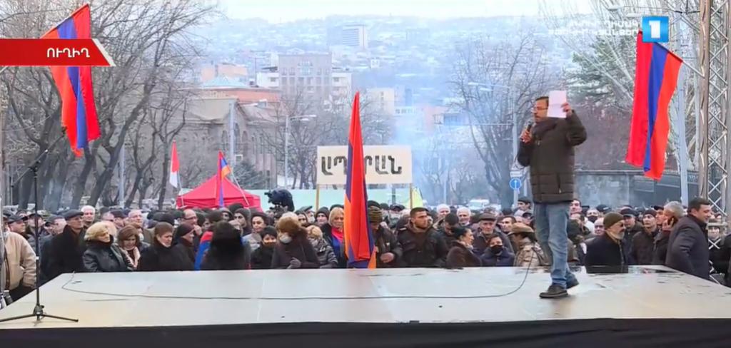 Освещение митингов оппозиции и властей