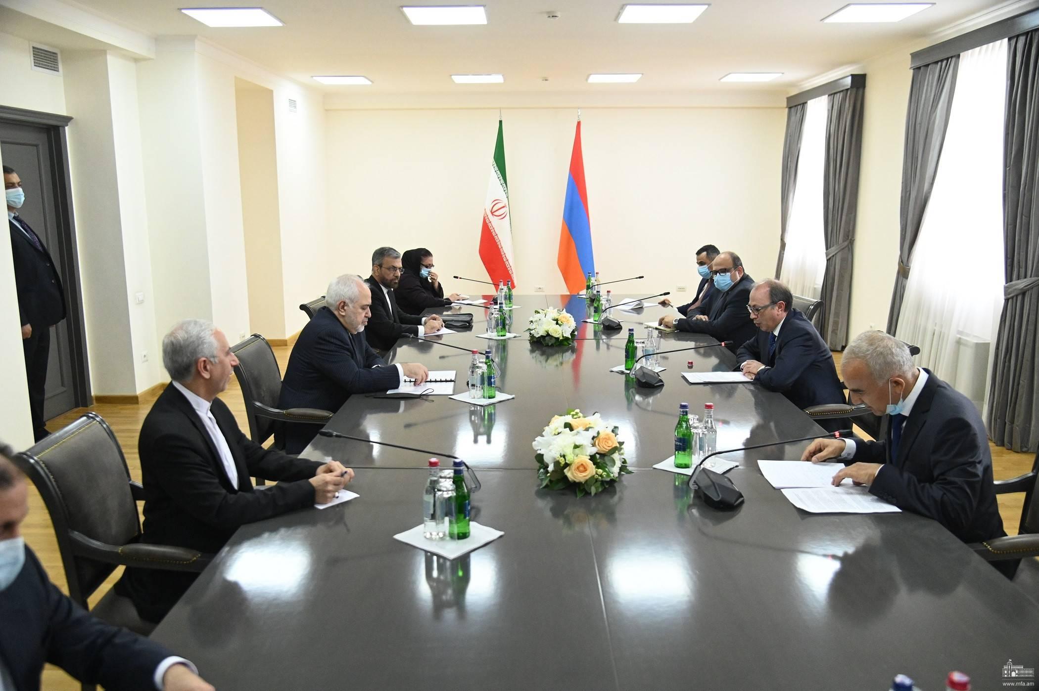 Իրանի արտգործնախարարի այցը Երևան