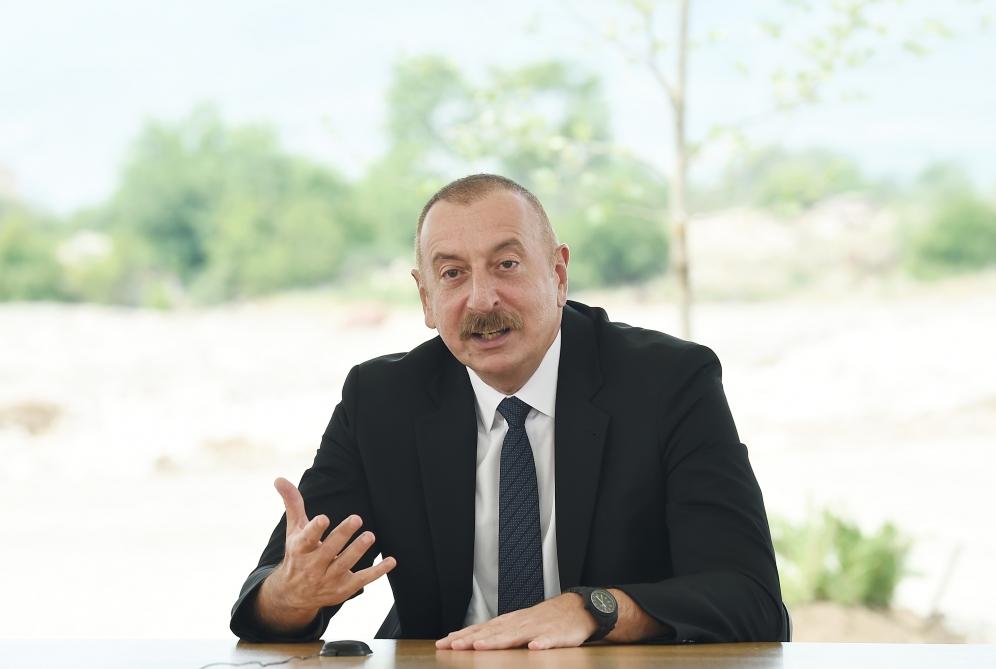 Ильхам Алиев Агдам