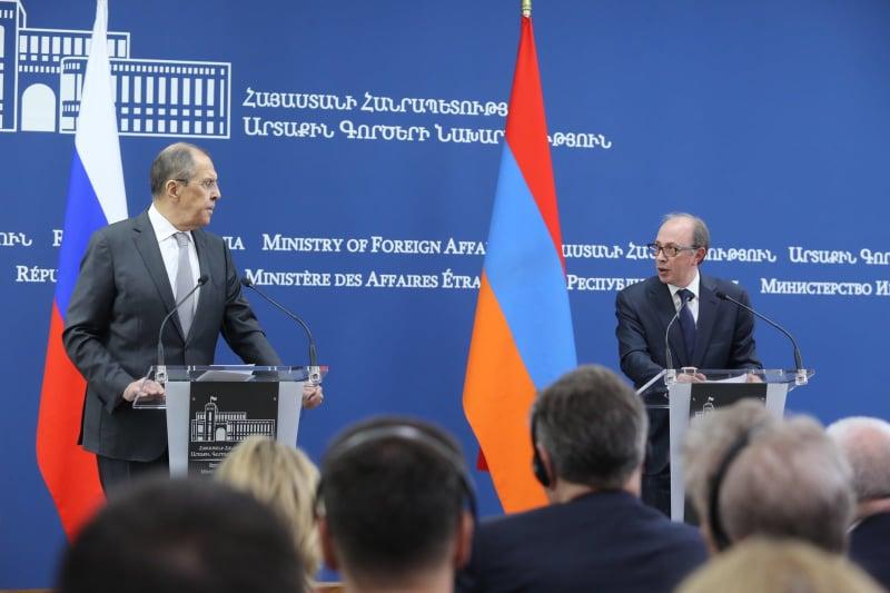 Lavrov's visit to Armenia